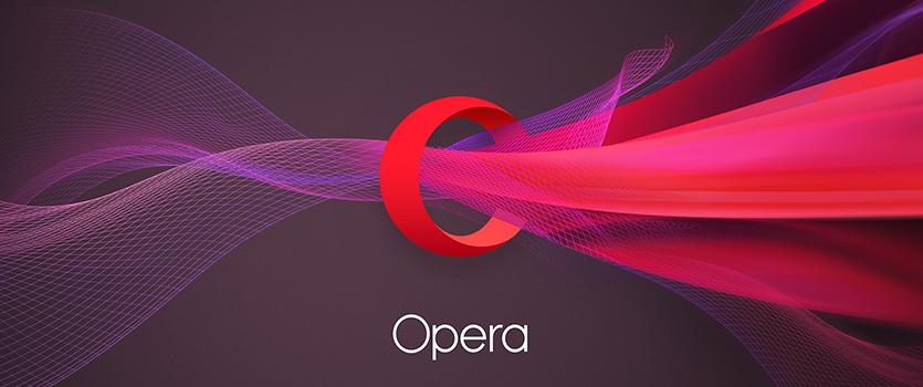 Opera browser v.45