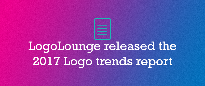 LogoLounge released the 2017 Logo trends report