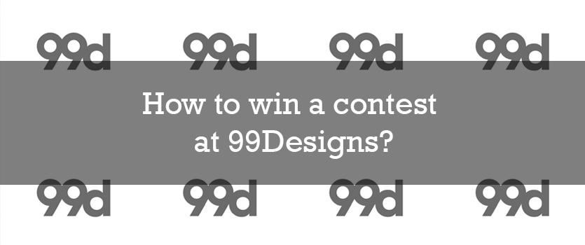 win a contest at 99Designs