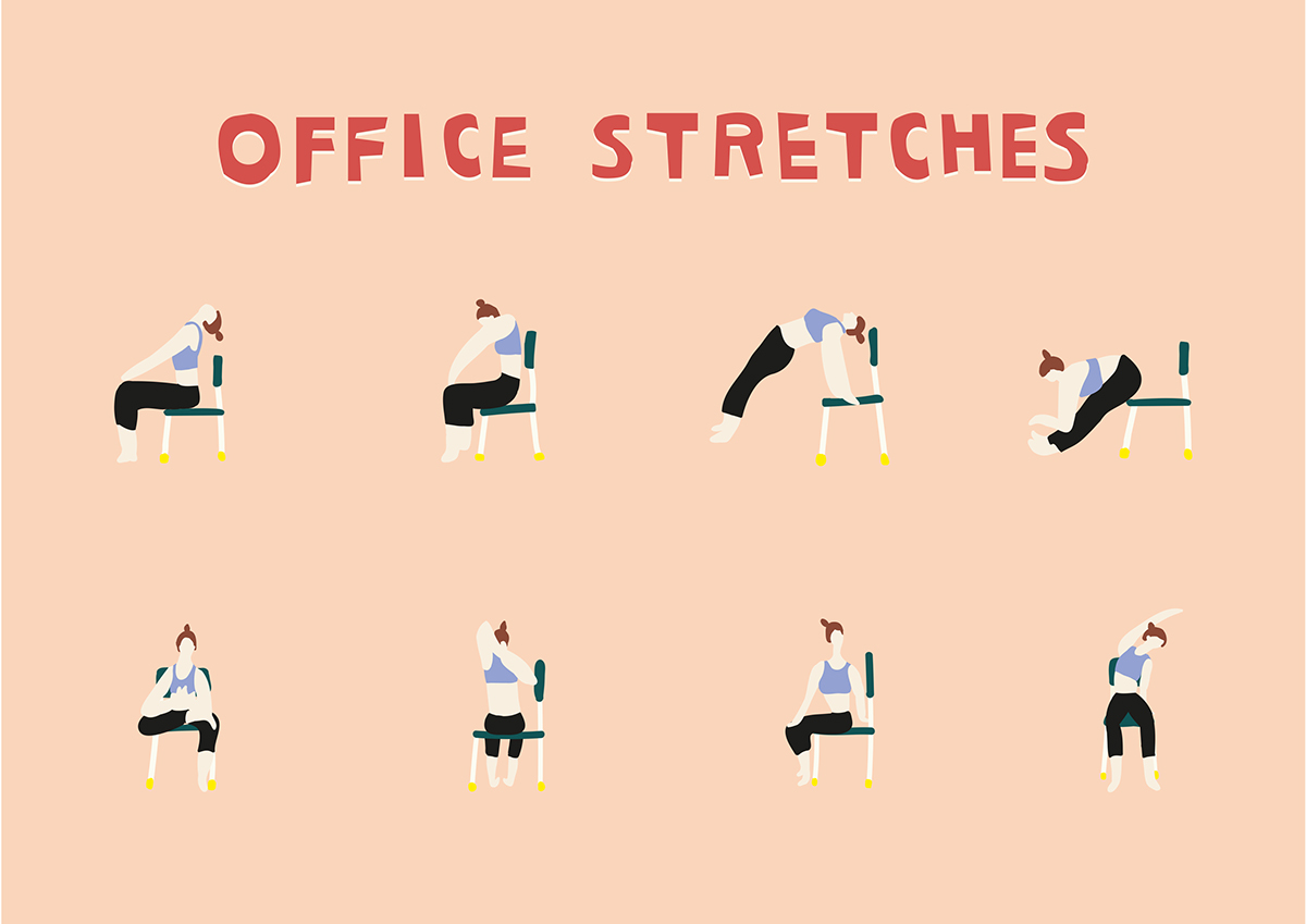 Digital Wellbeing - Office stretches