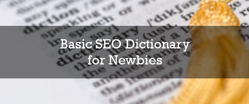 Basic SEO Dictionary for Newbies